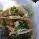 Fish Tacos at the R & R Taqeria