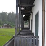 View of neighbouring balconies