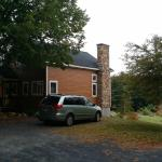 Front/side view of property - beautiful place!