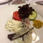 A lovely herring starter