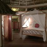 Inside view of cabana
