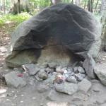 Awesome chimney rock and fire circle at site 630