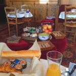 Hôtel Les Fresques Petit déj