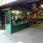 Entrance to shop (with captured HODAG)