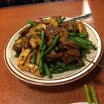 Beef and Mushrooms in XO Sauce