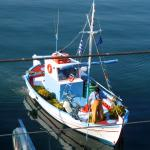 View from Gertrude: Fisherman Andreas returns home