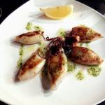 Calamares plancha