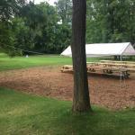 Half acre outdoor beer garden!
