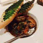 black garlic jumbo shrimps