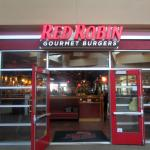 Red Robin from inside mall