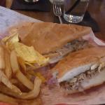 Dry sandwich no sauce