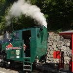 Steam train in preparation