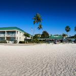 Situated beachfront on the white sands of Fort Myers Beach