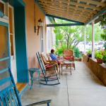 "The ""veranda"" of The Veranda Inn.  Very relaxing for early morning coffee, or evening glass of w"