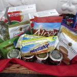 Welcome snack basket provided on arrival