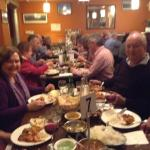 Group dinner @ 2 Spice Guru