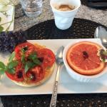breakfast at MGM B&B
