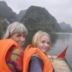 Going to the caves in Trang an