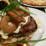 THE BEEF & CHICKEN STACK !!!!!!! YUMMO