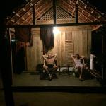 wooden cabana