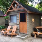 Outside cabin 8