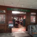 Entrance to The Pub