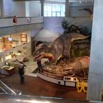T-rex statue