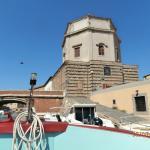 Giro dei Fossi; la Chiesa di Santa Catarina