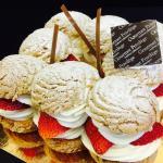 le gâteau Chouquette de Gourmet Privilège