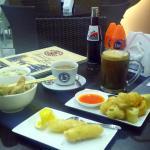 Cakue, Durian Goreng, Mie Ayam Pangsit, Hot and Ice Coffee Mocha