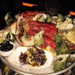 Very delicious seafood plate, option #2.