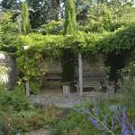 Lovely Garden Right Outside the Door