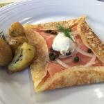 Perfect breakfast - really delish!
