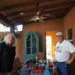 Gracious host and hostess, Randy and Linda