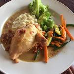 "Stuffed Chicken - nice dish but quite ""rich"""