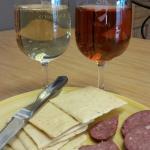 Wine & Colorado made snacks. ..yum