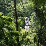 Zip-line a Tikal, Guatemala
