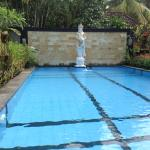 The beautiful pool is most welcomed each day