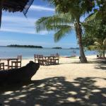 Chaweng beach from the beach bungalow