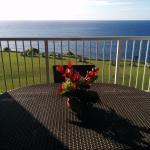 Ocean view from lanai in Bldg 8