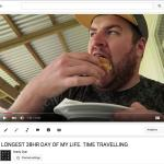 LBV in my travel video from Rarotonga