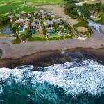 aerialview pantai lima