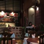 Food is delicious , nice singer and very relax