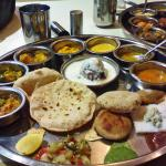 all kind of gujarati food ,jain food also available.