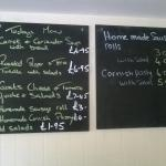 menu board 9 Sept 2015 - clear and simple