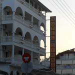 Отель в греческом стиле.