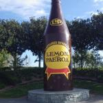 Lemon & Paeroa Bottle