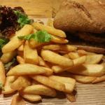 Le burger de pépé