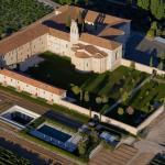 Vista aerea Abadia y Santuario