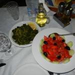 Horta e insalata di pomodori